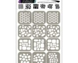 "Stencils for airbrushing OneAir ""Kaleidoscope"""