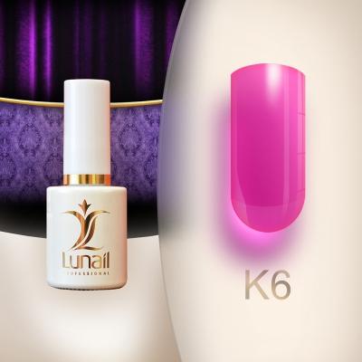 Gel polish K6 Stained Glass 6 ml