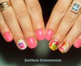 Decal nail sticker Sweets