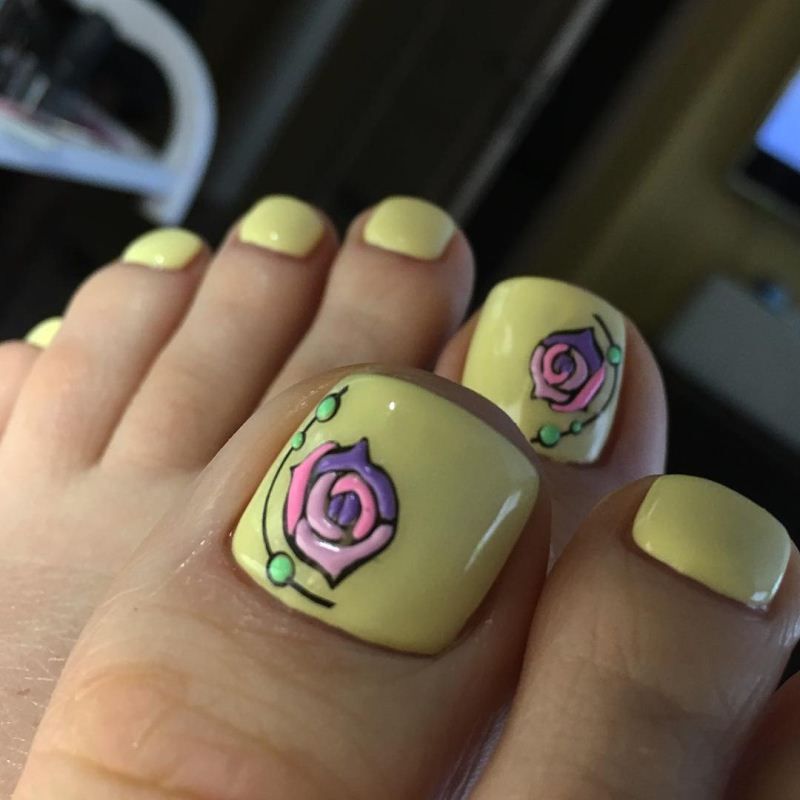 Decal nail sticker Flowers sweetbloom