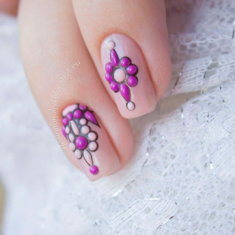 Decal nail sticker Sweetbloom 3