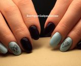 Decal nail stickers Mix