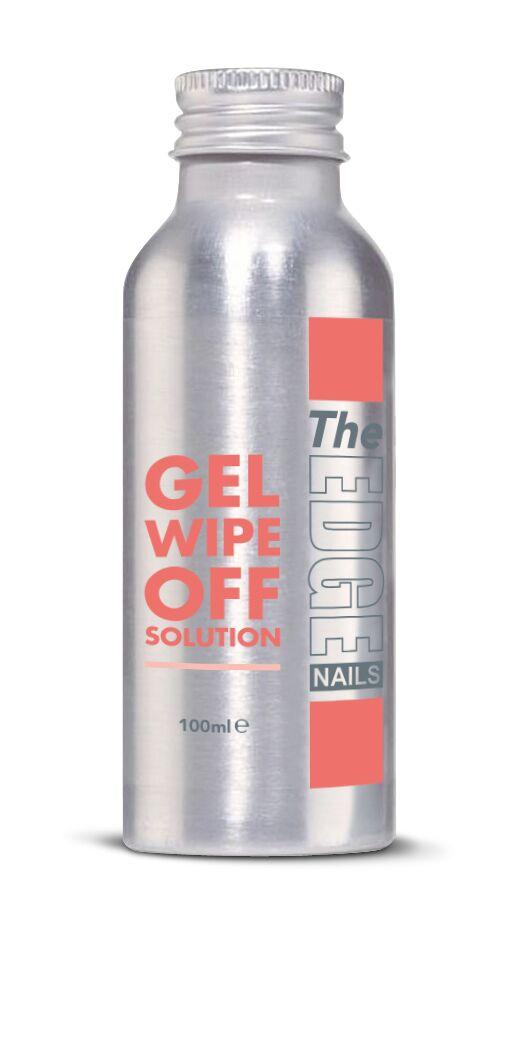 The Edge UV Gel Wipe Off Solution 100 ml