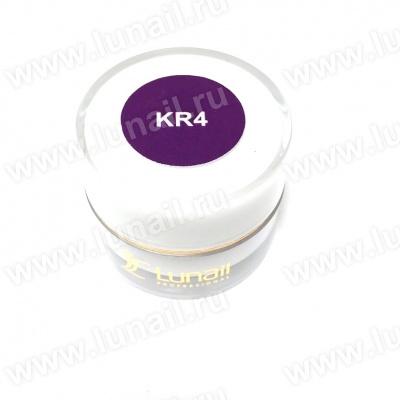 """Gel paint Lunail violet """"KR4"""" 5 ml"""