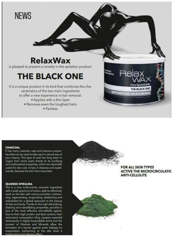 Κερί αποτρίχωσης Relax wax The Black One 400 ml