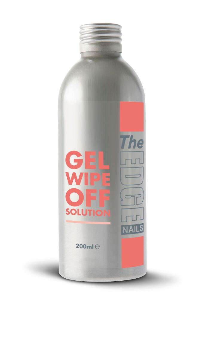 The Edge UV Gel Wipe Off Solution 200 ml