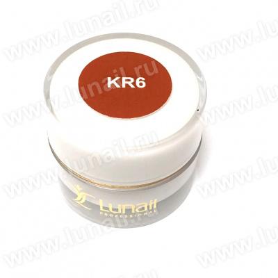 """Gel paint Lunail brown """"KR6"""" 5 ml"""