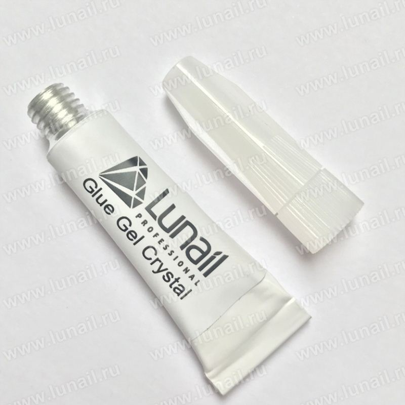 Glue Gel for crystals - rhinestones Lunail 5 ml tube