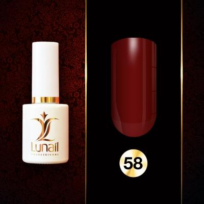 Gel polish 58 Lunail 10ml