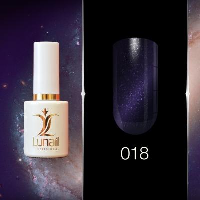 Gel polish 018 Lunail magnetic 10ml