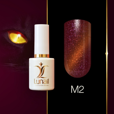Gel polish M2 Lunail magnetic 10ml