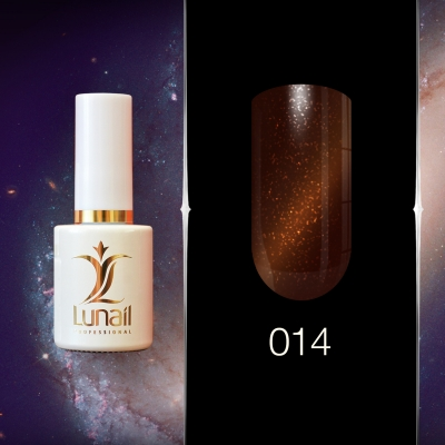 Gel polish 014 Lunail magnetic 10ml