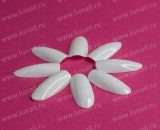 Tips Lunail №3 oval (white) 50pcs