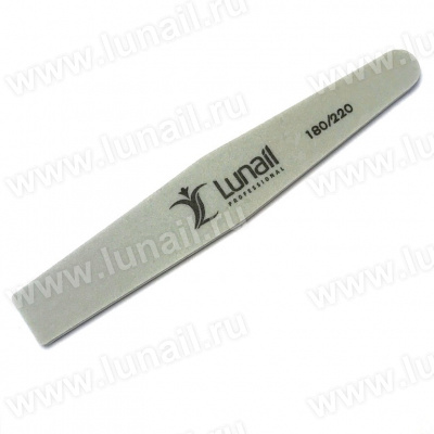 Buffer diamond-shaped Lunail 180/220 gray
