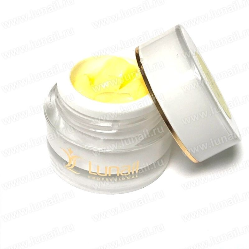 3D plasticine Lunail PL3 (light yellow) 5 g