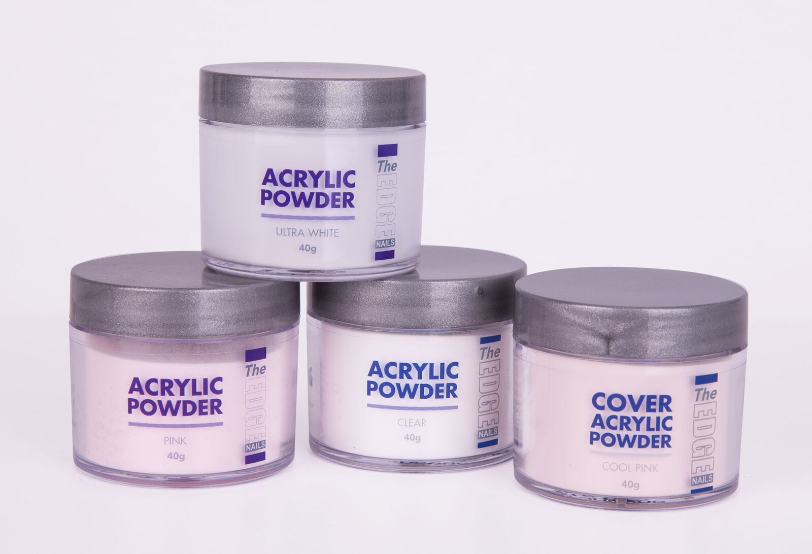 The Edge Acrylic Powder Pink 40g - New improved