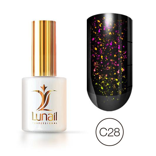 """Gel polish """"Yuki"""" C28 Lunail 10ml"""