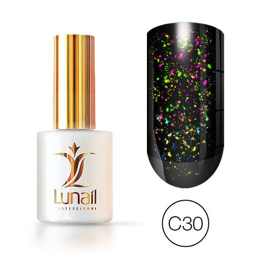 """Gel polish """"Yuki"""" C30 Lunail 10ml"""