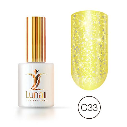 """Gel-lacquer """"Yuki"""" C33 Lunail 10ml"""