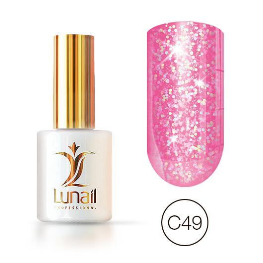 Gel polish «Holographic shine» C49 Lunail 10ml