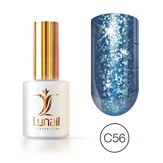Gel polish «Holographic shine» C56 Lunail 10ml
