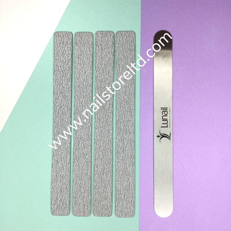 Ανταλλακτικά βάσης λίμας Lunail Long 8mm / 180mm / 1mm 100gr(50τεμ.)