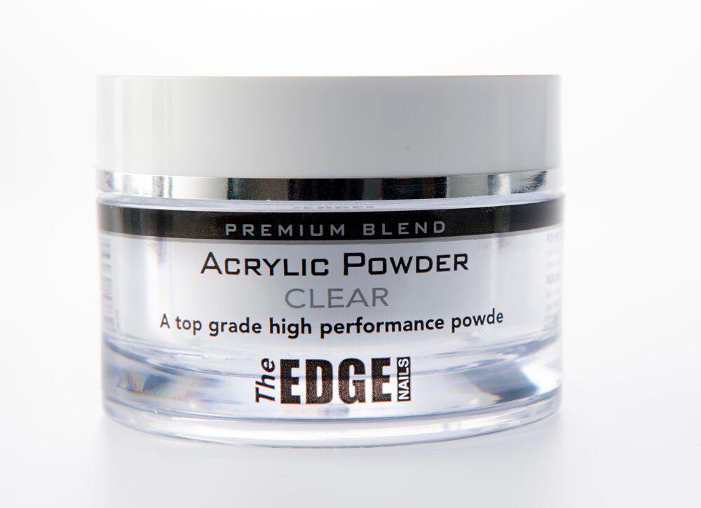 The Edge Premium Blend Acrylic Powder Clear 37 gr