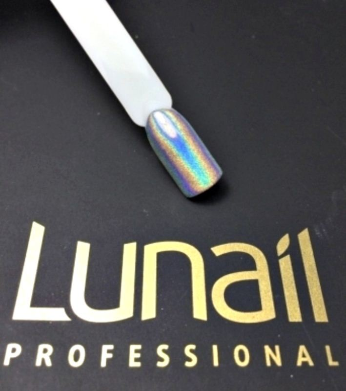 Holographic effect pigment