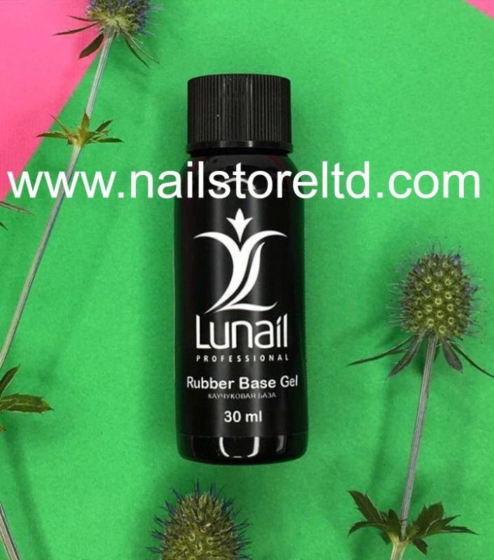 Lunail rubber base for gel-varnish 30 ml