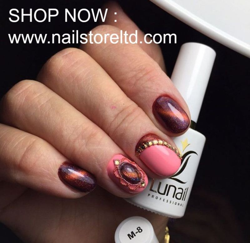 Gel polish M8 Lunail magnetic 10ml