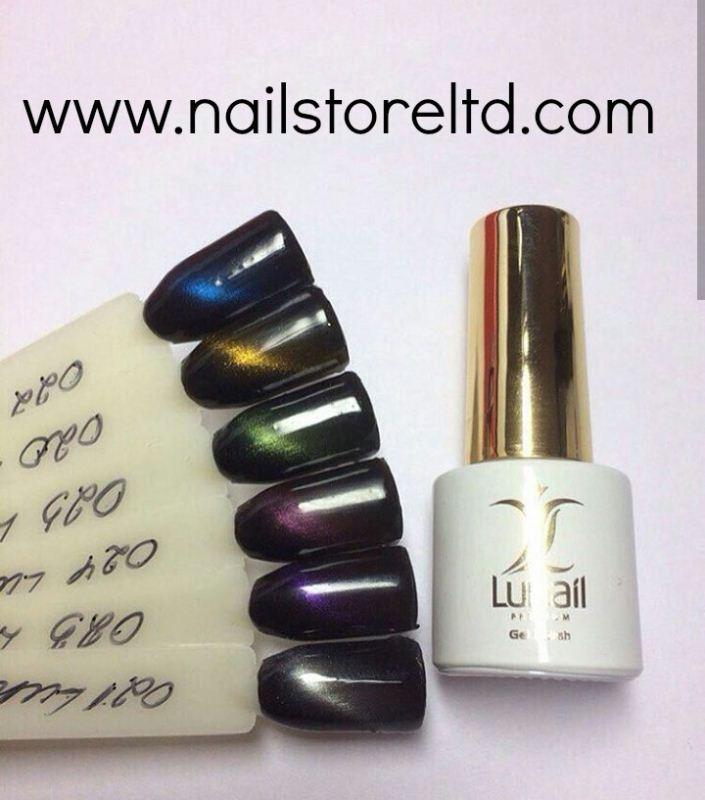 Gel polish 020 Lunail magnetic gloss 6 ml