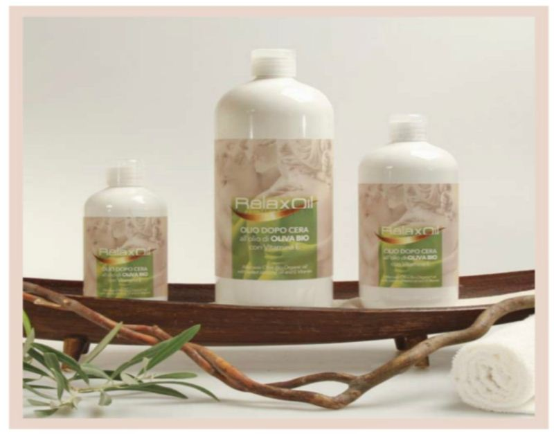 Relax Gold After Wax Oil with Organic Olive Oil 250 ml