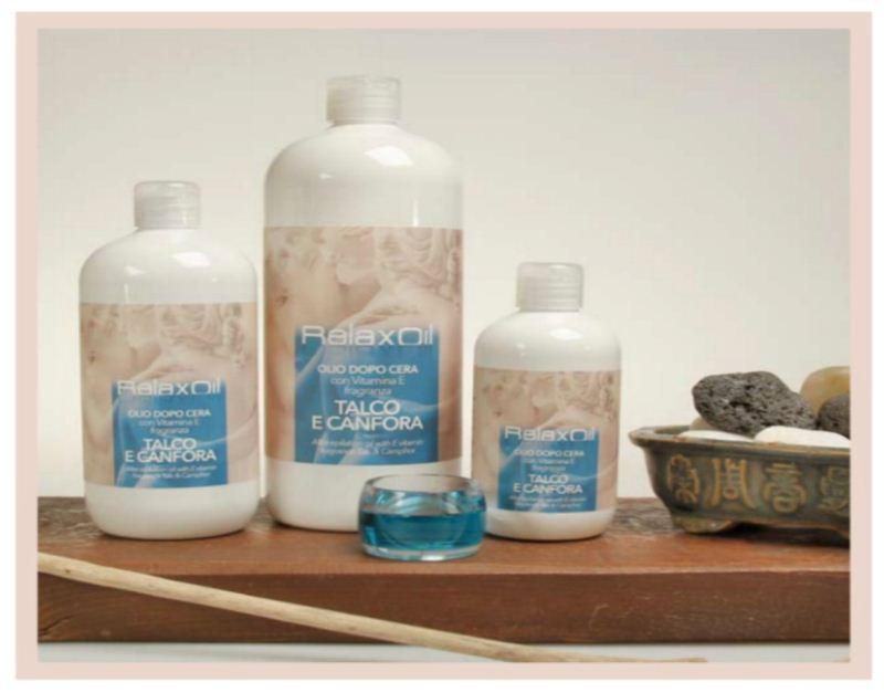 After wax oil Talc & Canfora 250 ml