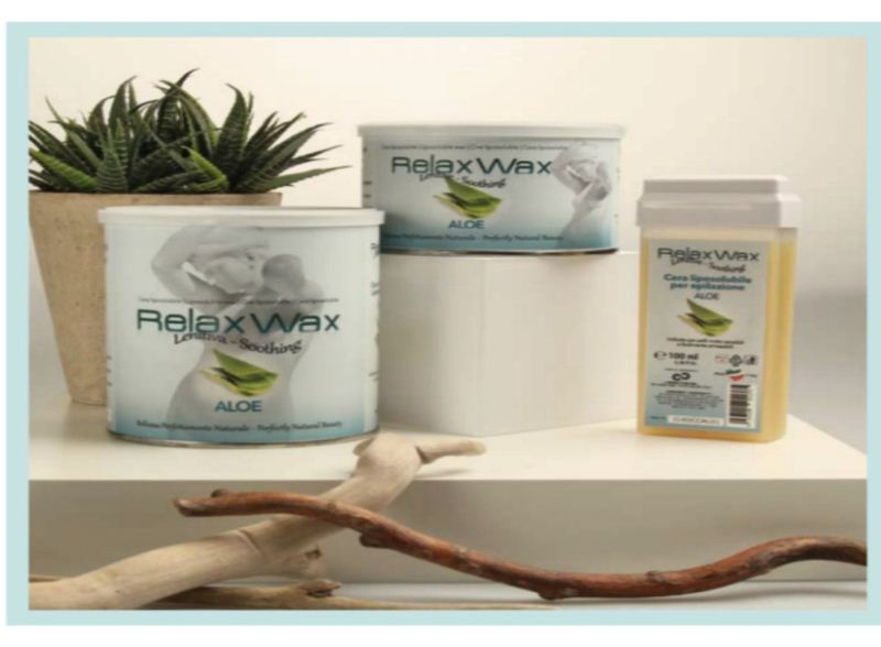 Relax ρολέτα κερί Aloe 100 ml