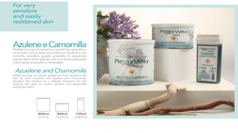Relax ρολέτα κερί Azulene & Chamomile 100 ml