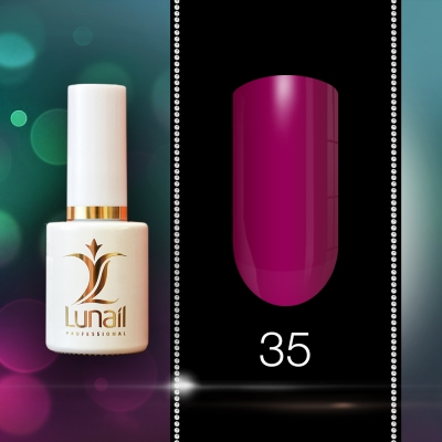 Gel Varnish 35 Lunail 10ml