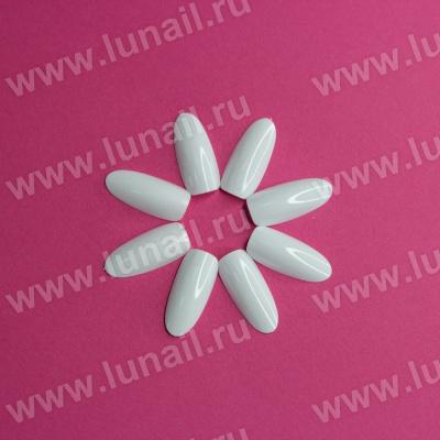 Tips Lunail №3 oval (white) 50pcs