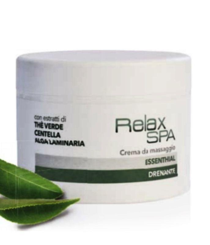 Massage Cream Essenthial Draining 500 ml