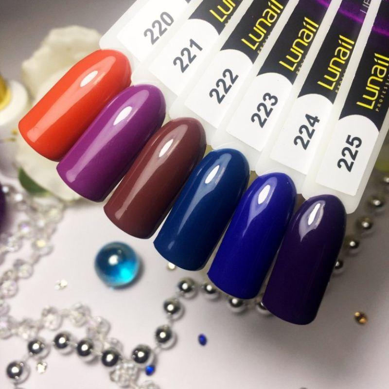 Gel polish 223 Lunail 10ml