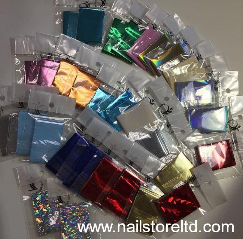 Foil gloss silver