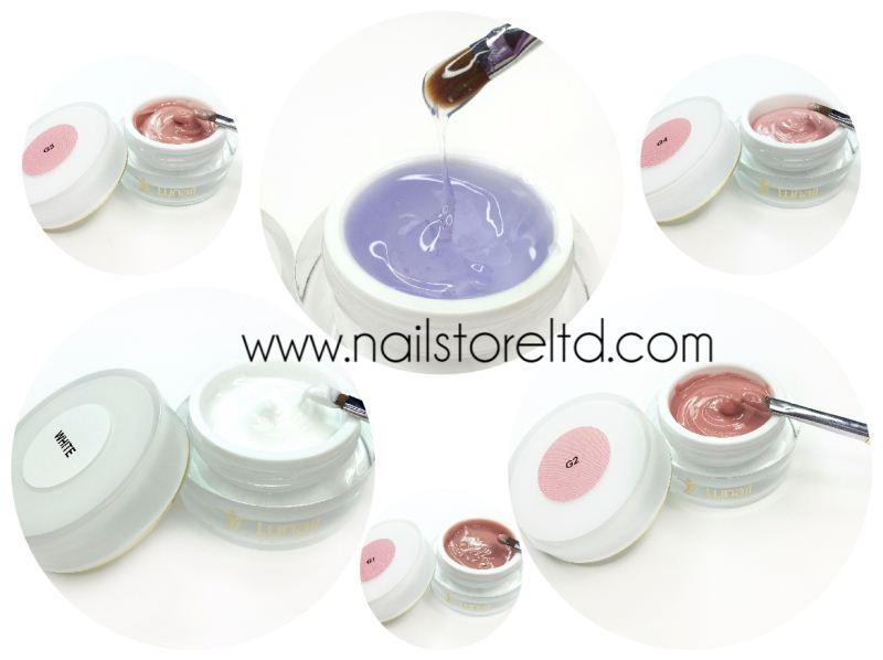 Cream-gel White Lunail 15 ml