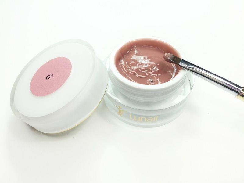 Camouflage cream-gel «G1» Lunail 15 ml