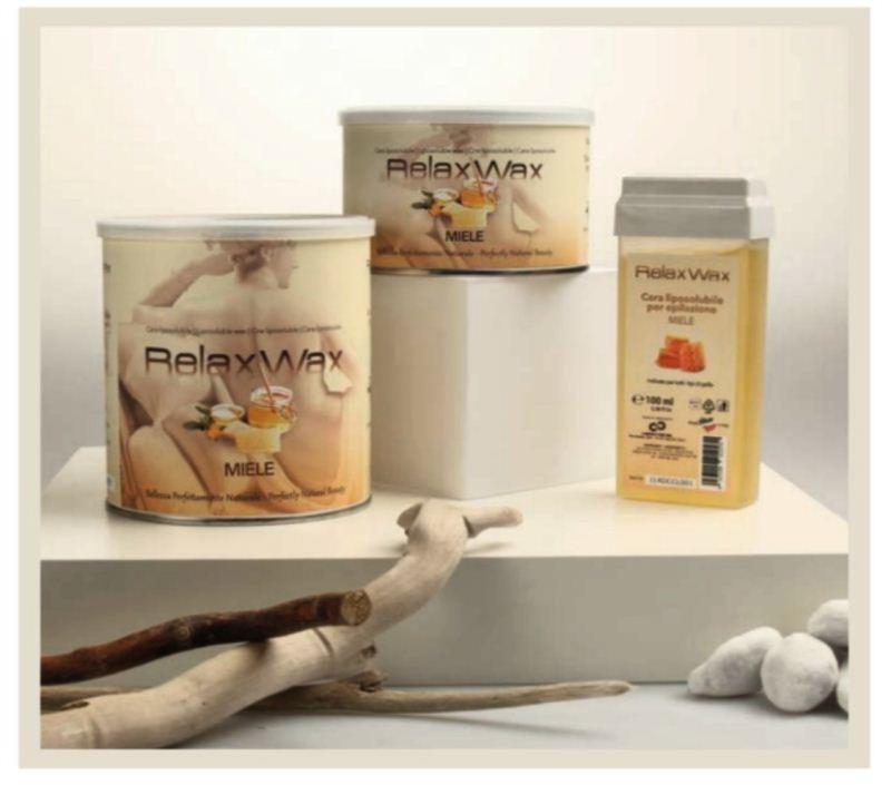 Relax ρολέτα κερί Honey 100 ml