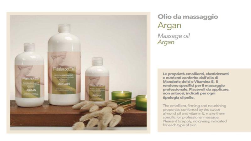 Massage Oil Argan 250 ml