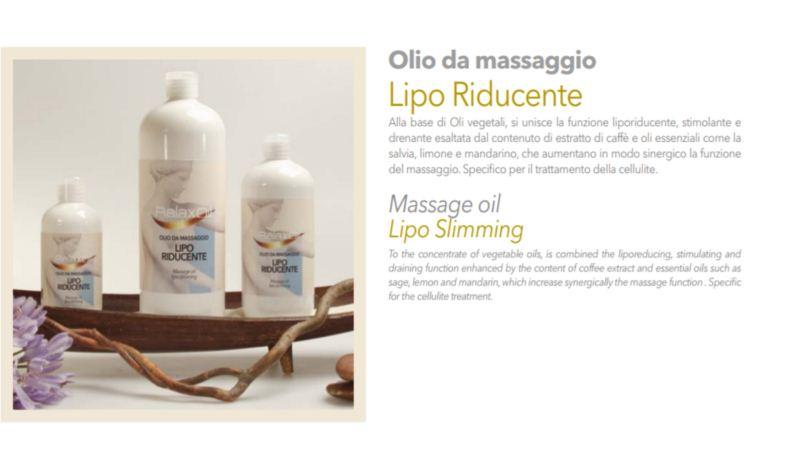 Massage Oil Lipo Slimming 500 ml