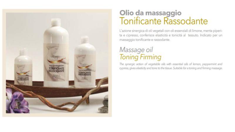 Massage Oil Toning Firming 500 ml