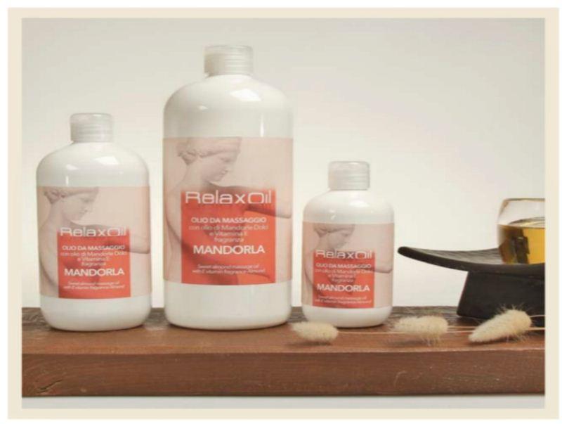 Massage Oil Almond 250 ml