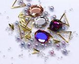 Nail Art Rhinestones Coloful Diamond 3D